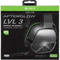 AFTERGLOW Wired LVL 3 Gaming Headset Black, Xbox One