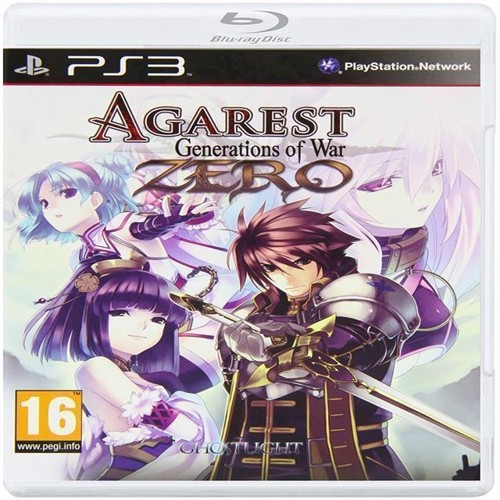 Image of Agarest Generations of War Zero Standard Edition - PS3 (5036675013798)