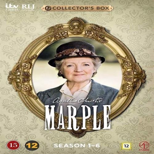 Image of Agatha Christies Marple Sæson 16 Afsnit 123 12Disc Dvd (7333018009745)