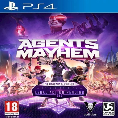 Image of Agents of Mayhem (Day One Edition) - PS4 (4020628825621)