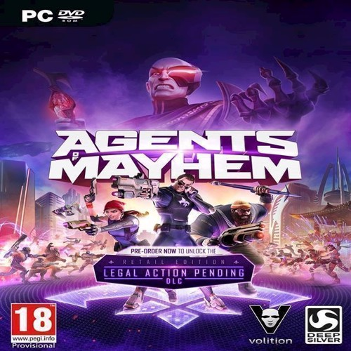Image of   Agents of Mayhem Day One Edition - XBOX ONE