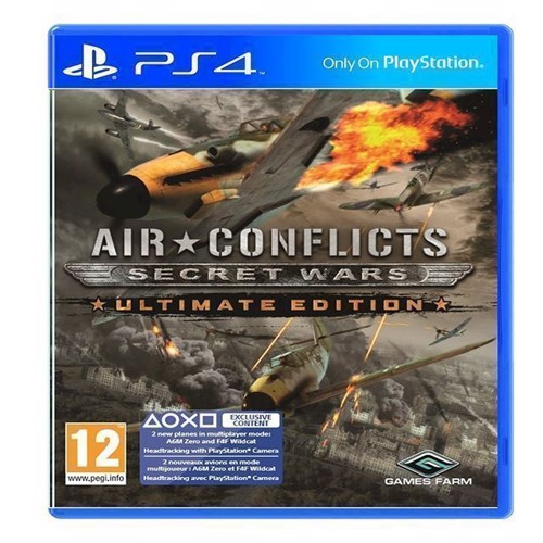 Image of Air Conflicts Secret Wars Ultimate Edition - PS4 (4260401950311)