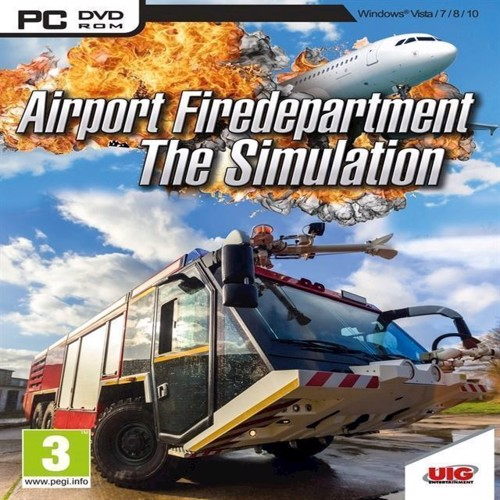 Image of Airport Firefighters The Simulation - PS4 (4020636128929)