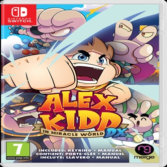 Image of Alex Kidd in Miracle World DX - PS4 (5060264375417)