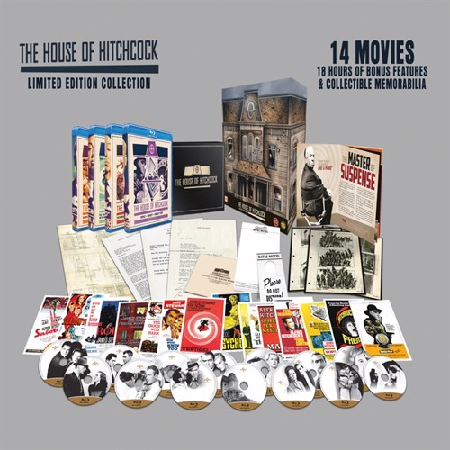 Image of   Alfred Hitchcock house collection, Blu-ray