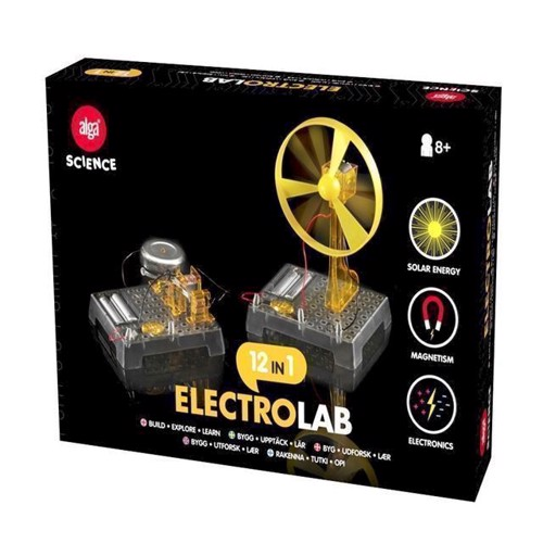 Image of Alga science - 12 i 1 Electro Laboratorie (4893669288041)