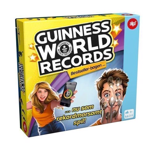 Image of   Alga Guinness World Records DK