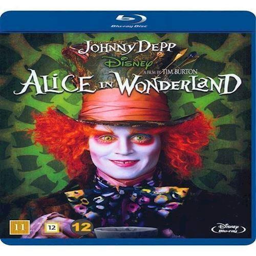 Image of Alice i Eventyrland Tim Burton Blu-ray