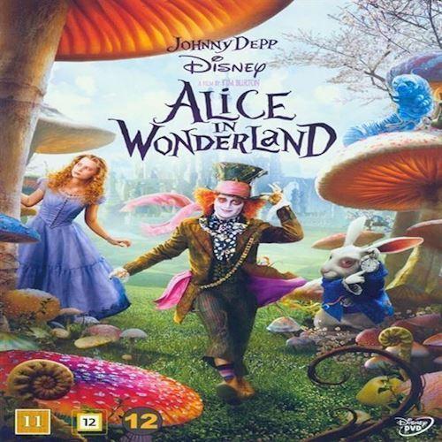 Image of Alice I Eventyrland Tim Burton DVD