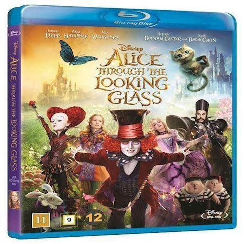 Image of Alice i Eventyrland Bag spejlet Blu-ray
