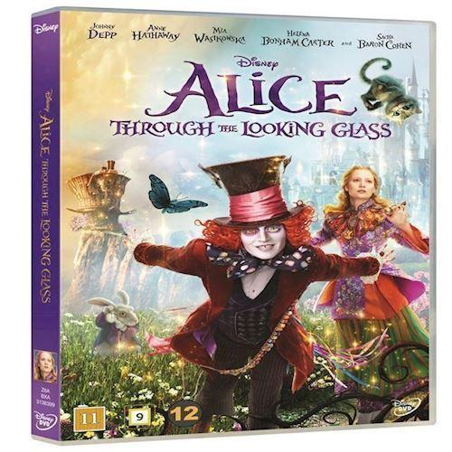 Image of   Alice i Eventyrland Bag spejlet DVD