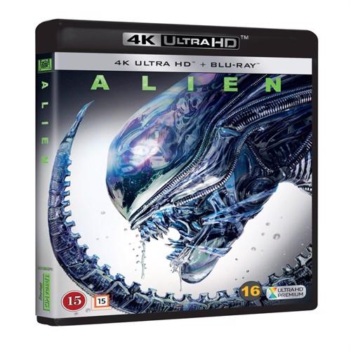 Image of Alien, 4K Ultra Hd + Blu-Ray