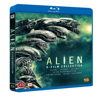 Image of Alien, 6 Movie Collection, Blu-ray