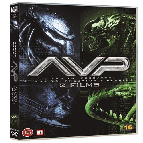 Image of Alien vs predator 1-2 boxset 2 disc DVD