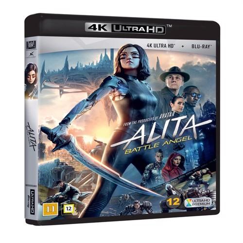 Image of Alita battle angel 4k Blu-Ray