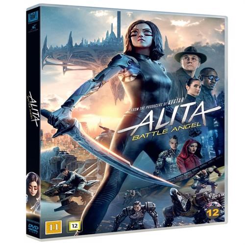 Image of Alita battle angel dvd