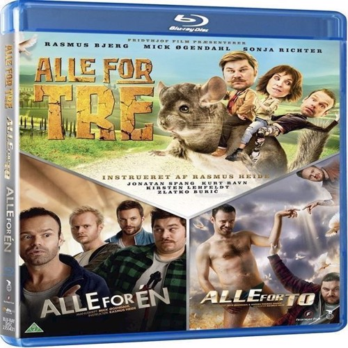Image of Alle For EnAlle For ToAlle For Tre Blu-ray