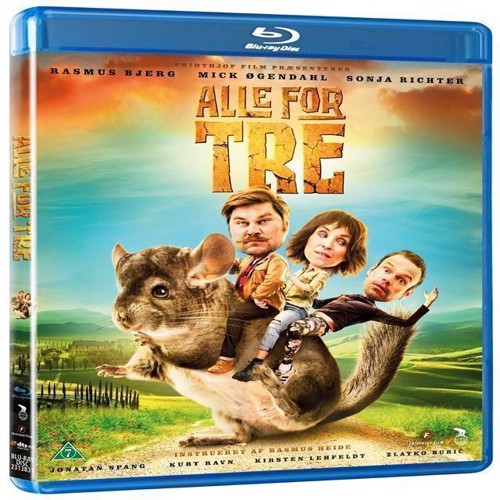Image of Alle For TreThree Heists and a Hamster Blu-ray