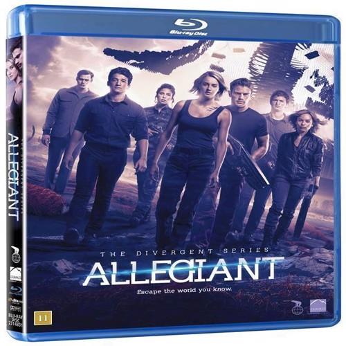 Image of Allegiant Divergent series Blu-ray