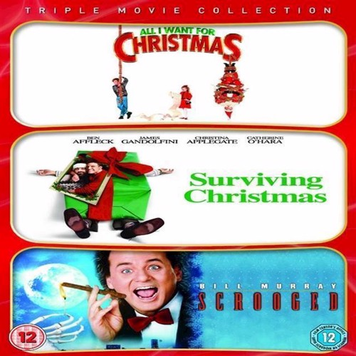 Image of All I Want For Christmas Surviving Christmas Scrooged Triple pakke DVD