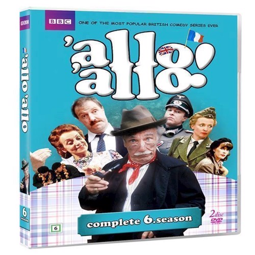Image of Allo Allo Sæson 6 DVD