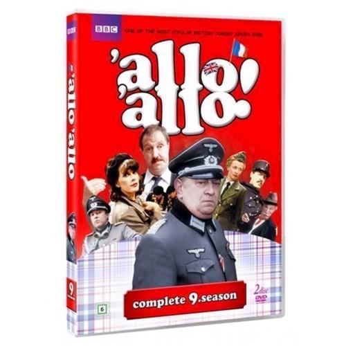 Image of Allo Allo Sæson 9 DVD