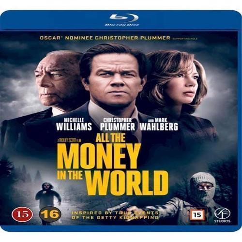 Image of All The Money In The World Blu-Ray