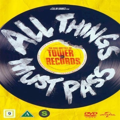 Image of All Things Must Pass The Rise and Fall of Tower Records DVD