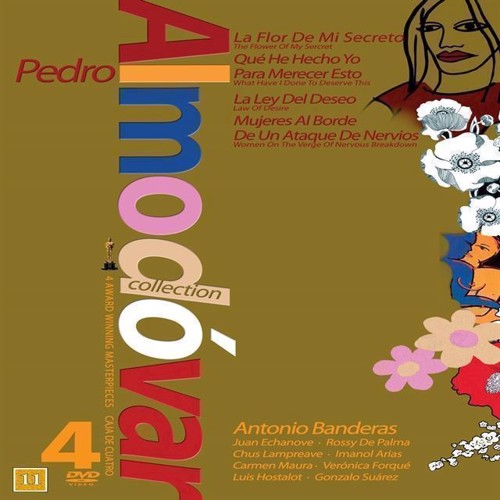 Image of   Almodovar 4 Dvd Coll Brun Dvd