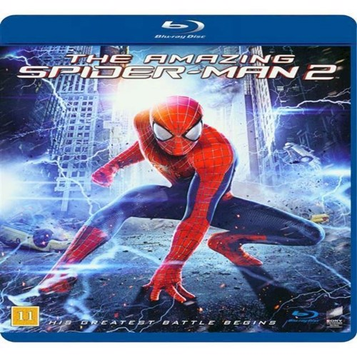 Image of Amazing SpiderMan 2, The Blu-ray (5051159329776)
