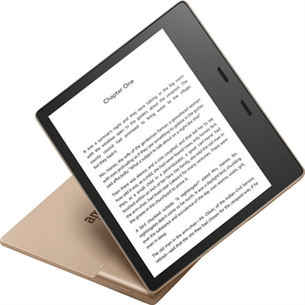 Image of Amazon - Kindle Oasis 32GB Champagne Gold (0841667194318)