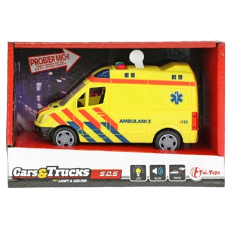 Image of Ambulance with light and sound (8719904231268)