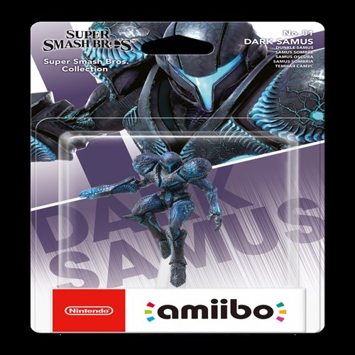 Image of Amiibo Dark Samus (Super Smash Bros. Collection) (0045496380861)