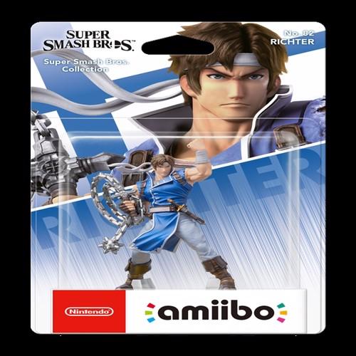Image of Amiibo Richter Belmont (Super Smash Bros. Collection) (0045496380885)