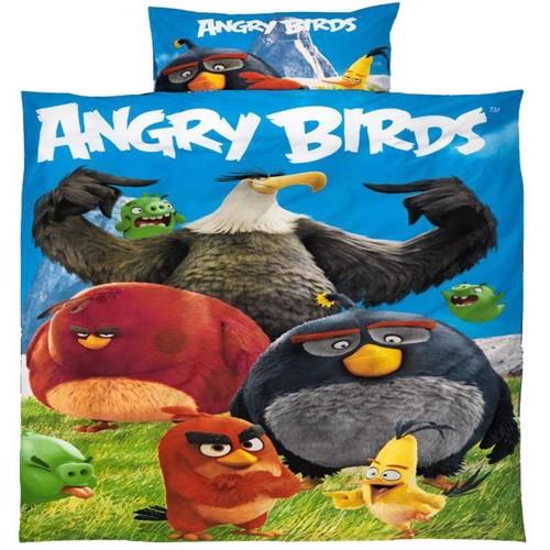 Image of Angrybirds 2I1 Sengetøj 100 Procent Bomuld