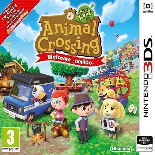 Image of Animal Crossing New Leaf Welcome Amiibo Select - Nintendo 3Ds