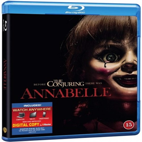 Image of Annabelle Blu-Ray