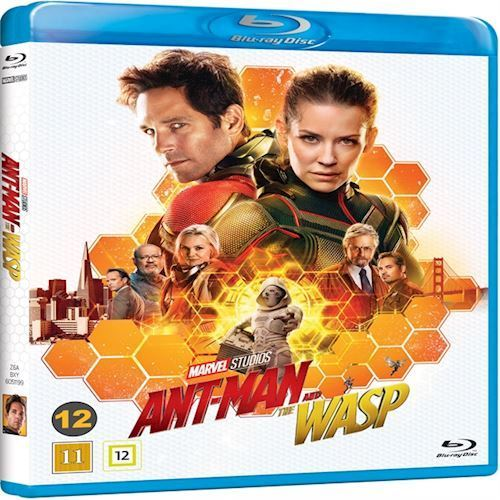 Image of   Ant-Man and the Wasp (3D Blu-ray + Blu-ray)