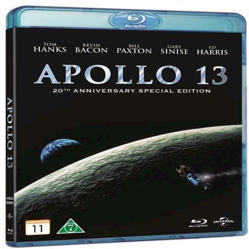 Image of Apollo 13 20th Anniversary Edition Blu-ray (5053083036317)
