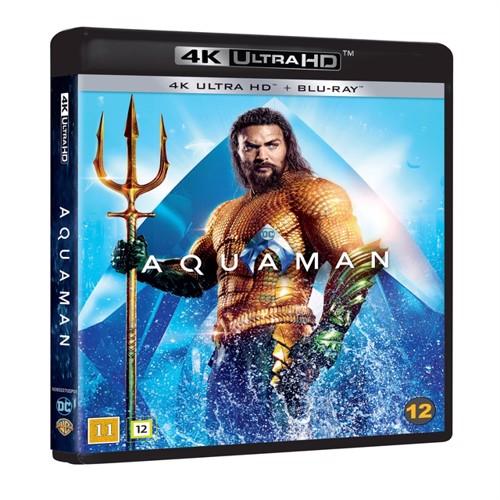 Image of Aquaman 4K Blu-Ray