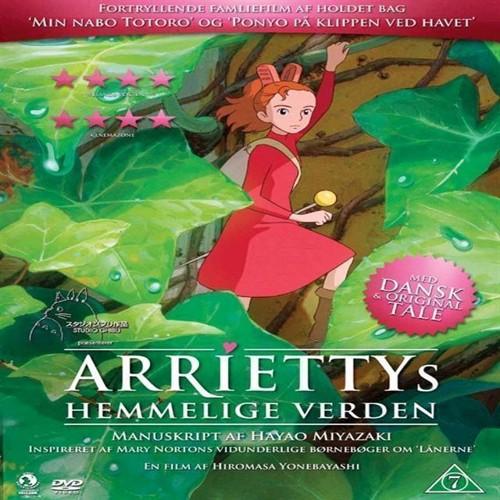 Image of Ariettys hemmelige verden DVD (5705535044691)