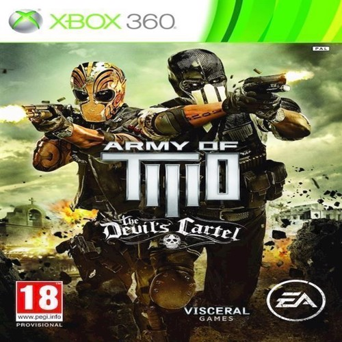 Image of Army of Two The Devils Cartel - PS3 (5030930110109)