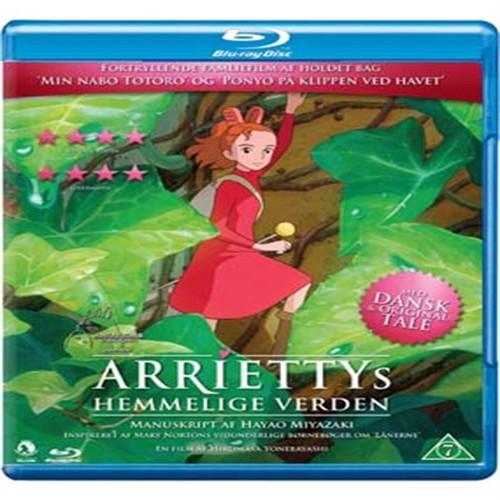 Image of Arriettys Hemmelige Verden Blu-Ray