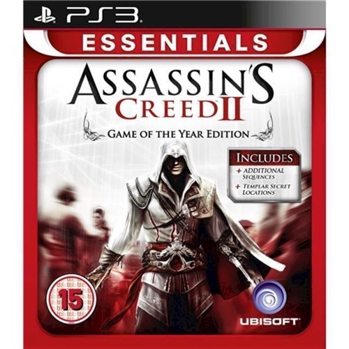 Image of Assassins Creed 2 Game of the Year Essentials - PS3 (3307215659045)