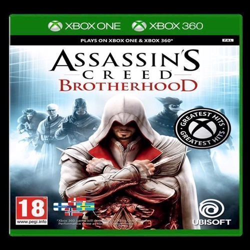 Image of Assassins Creed Brotherhood Greatest Hits - Xbox (3307215673386)