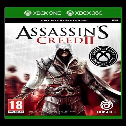 Image of Assassins Creed II 2 Greatest Hits - Xbox (3307217934720)