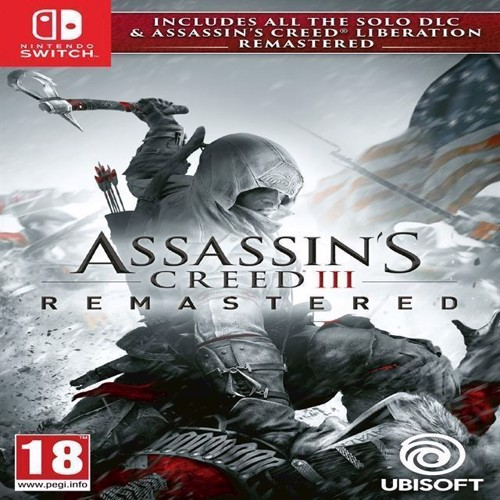 Image of Assassins Creed Iii 3 Liberation Hd Remaster, Nintendo Switch