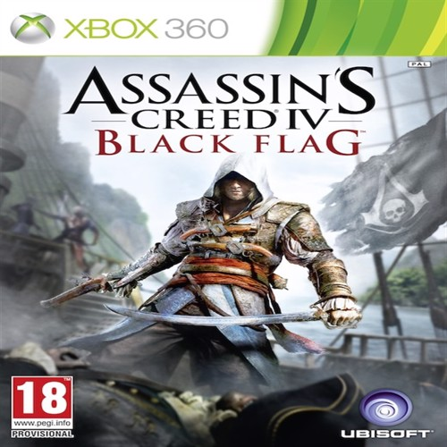 Image of Assassins Creed IV / 4, Black Flag, PS4 (3307215715116)