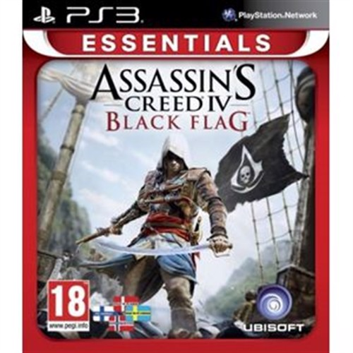 Image of Assassins Creed IV (4) Black Flag - Essentials PS3