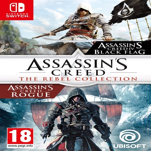 Image of Assassins Creed rebel collection, Nintendo Switch (3307216148449)